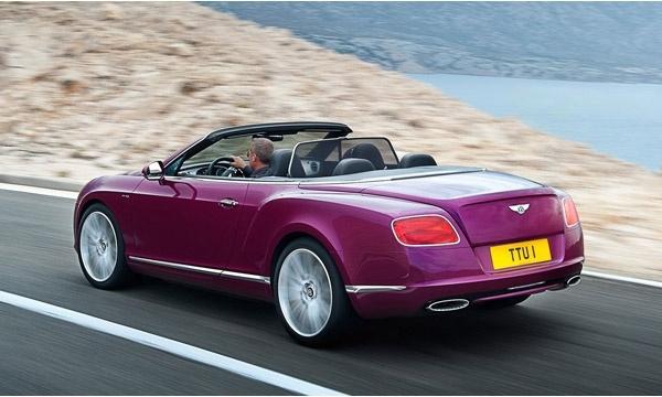 Bentley GT Speed Convertible Görselleri