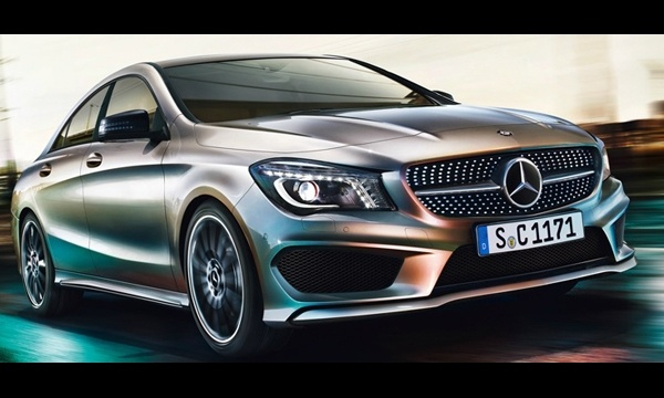 Mercedes CLA Görselleri...