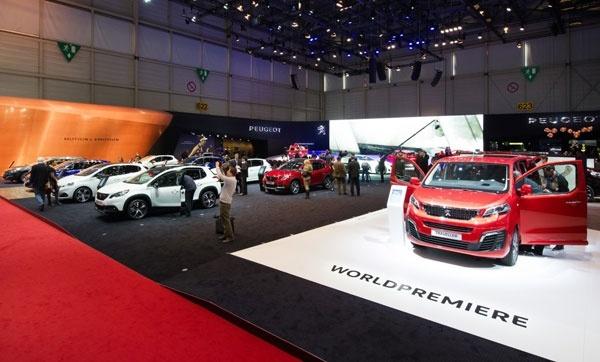 Cenevre Otomobil Fuarı Peugeot