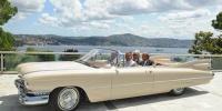 Cumhurbaşkanı Gül'ün klasik otomobil gezisi...