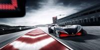 L750 R Hybrid Vision Gran Turismo,  Gran Turismo Sport pistlerinde boy gösteriyor