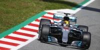 İspanya'da Lewis Hamilton Zirvede