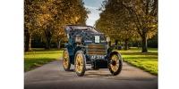 100 yıllık Fiat 3½ HP Londra klasik otomobil yarışında