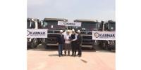 Karmak İnşaat, araç filosunu 20 adet Volvo Trucks kamyon ile genişletti