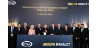 Oyak Renault yeni yatırımın temelini attı