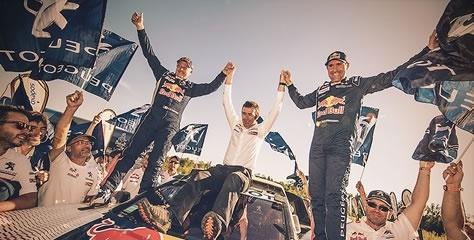 "2017 Dakar Rallisi'nde İlk 3'te ""Peugeot 3008DKR"""