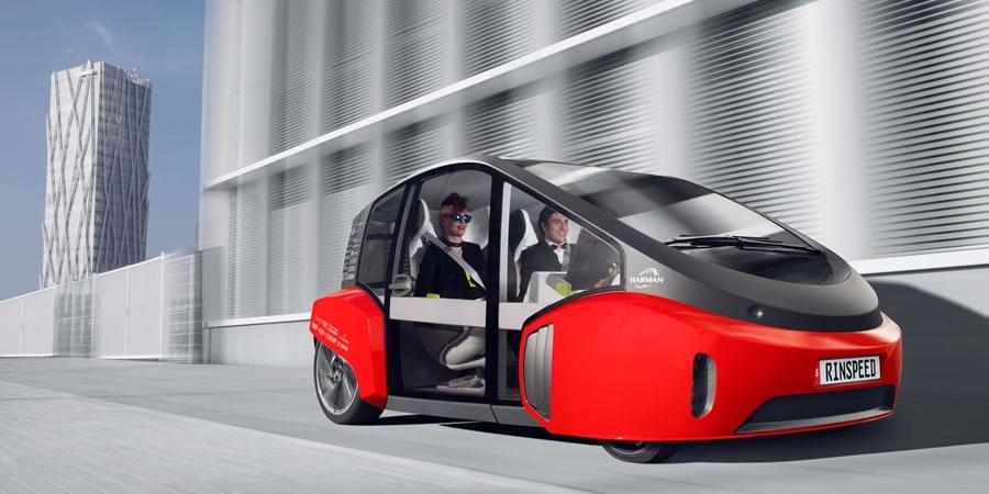 OSRAM, Rinspeed'in en yeni konsept otomobili Oasis