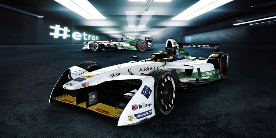 Audi,  e-tron FE04'ü tanıttı