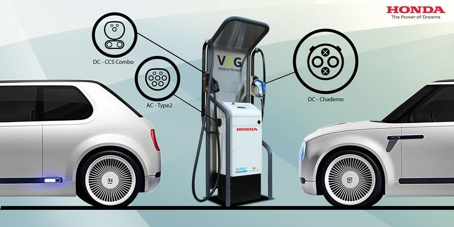 """Honda'dan elektrikli araç teknolojisinde """"Çift Yönlü Şarj"""" devrimi"""