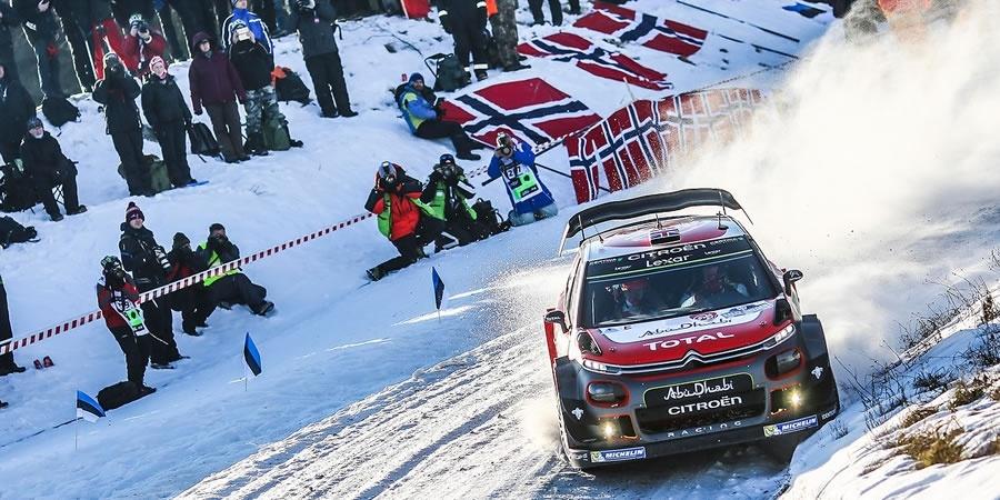 CITROËN C3 WRC İsveç Rallisi'ne hazır!