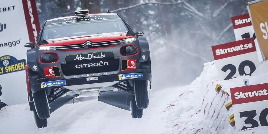 Citroën C3 WRC İsveç Rallisi'ni podyumda bitirdi