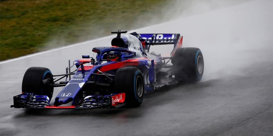 Honda'nın F1'deki yeni temsilcisi Red Bull Toro Rosso Honda STR13 tanıtıldı