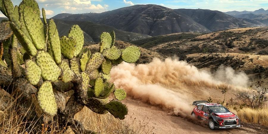 CITROËN C3 WRC Meksika Rallisi'ne hazır