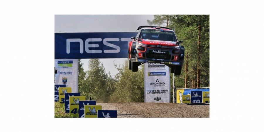 Citroën C3 WRC'den üçüncü podyum başarısı