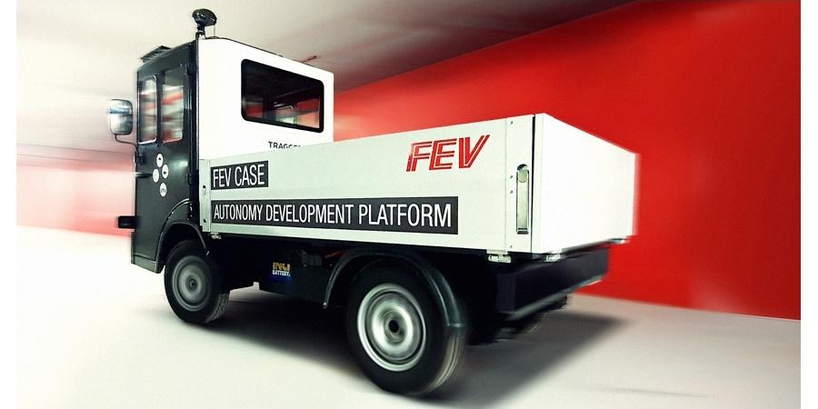 FEV Türkiye mühendisleri %100 Elektrikli TRAGGER'i otonomlaştırıyor