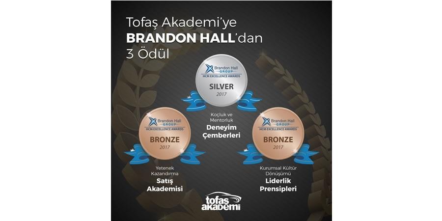 Tofaş'a Brandon Hall'dan 3 ödül