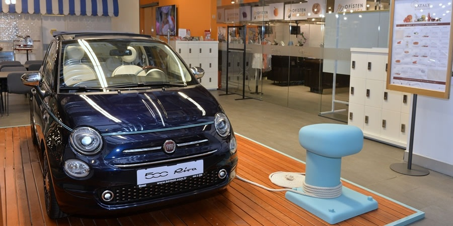 Fiat 500 Riva Türkiye'de görücüye çıktı