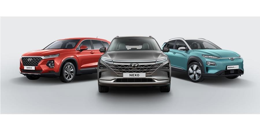 Hyundai'nin SUV çıkarması: NEXO, Santa Fe ve KONA Electric