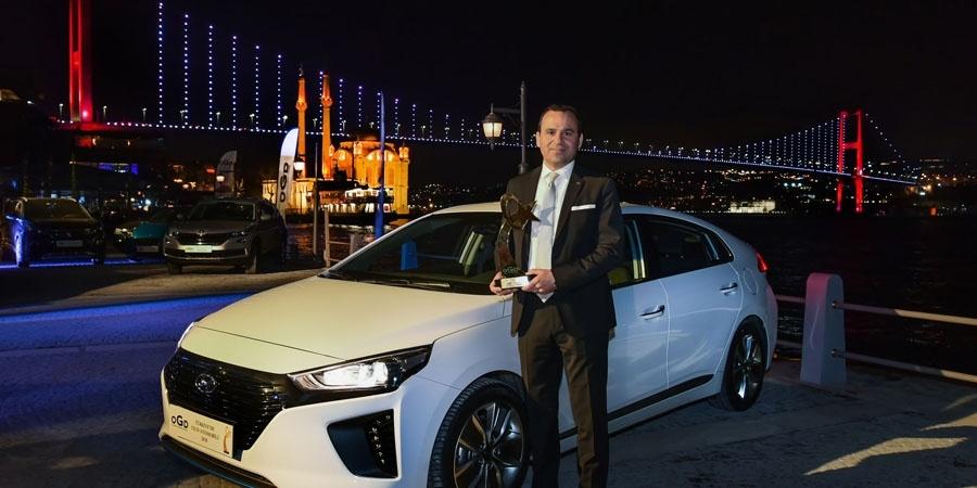 Hyundai IONIQ Hybrid, Türkiye'de Yılın Otomobili Seçildi