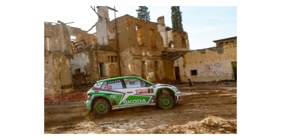 Škoda Fabia R5, Kıbrıs Rallisi'nde de Hız Kesmedi