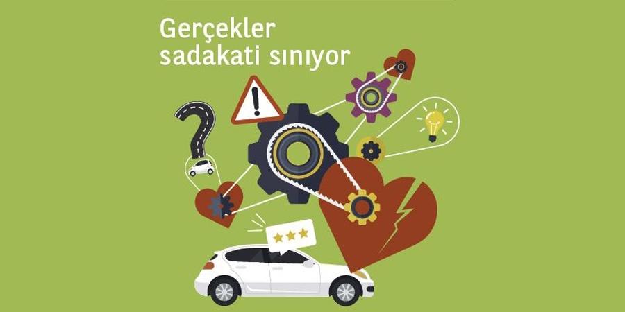 Türkiye'de sürücülerin üçte biri otomobil markasına sadık