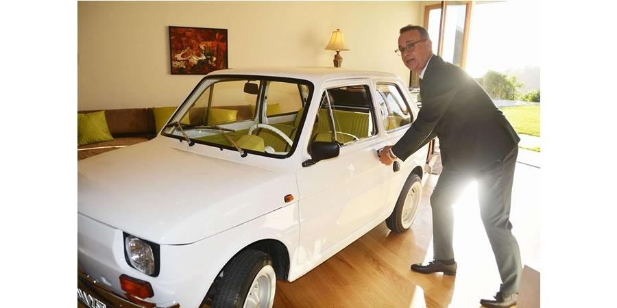 Tom Hanks'e hediye edilen Fiat 126p yenilendi