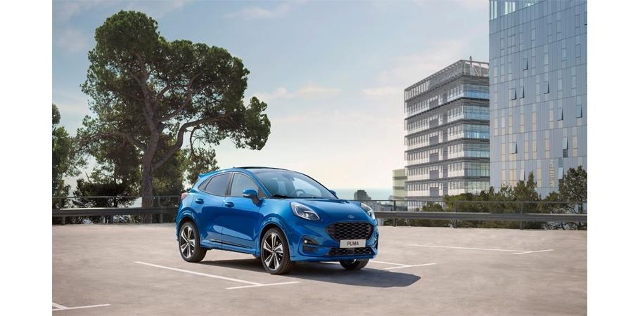 Yeni Ford Puma Crossover'dan etkileyici tasarım