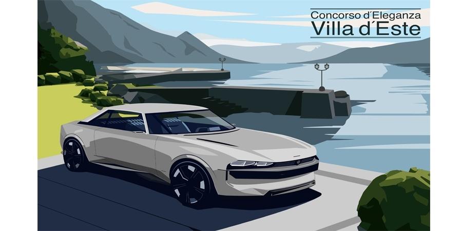Peugeot e-Legend concept #Licence to Dream