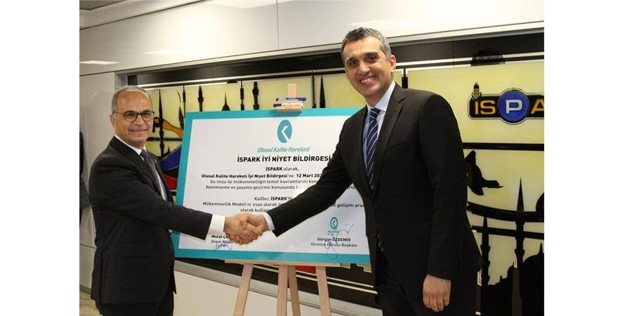 İSPARK'ta KalDer Üyeliği ile yeni bir dönem başlıyor
