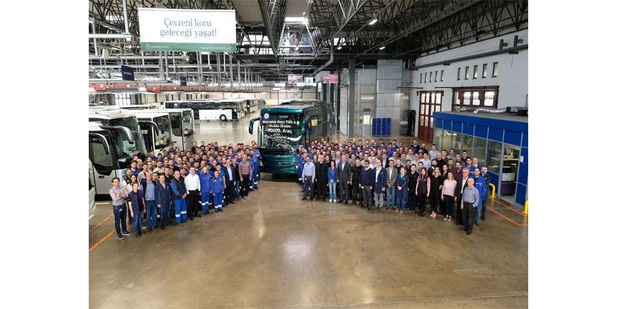 Mercedes-Benz Türk, 90.000'inci otobüsünü üretti