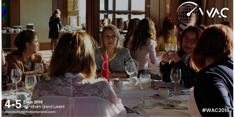 Sektörün güçlü kadınları Dünya Otomotiv Konferansı'nda buluşuyor