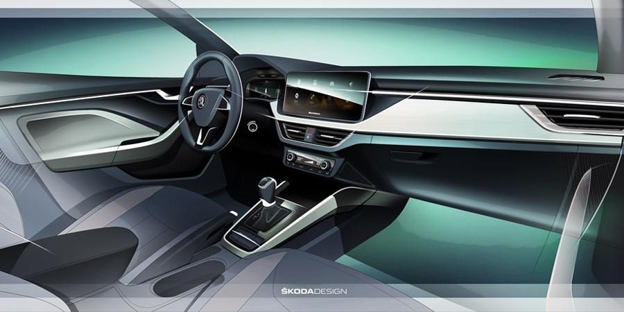 Skoda, Scala ile yeni kabin konseptini tanıttı