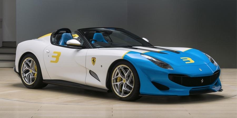 Ferrari'den 780 HP'lik Roadster!