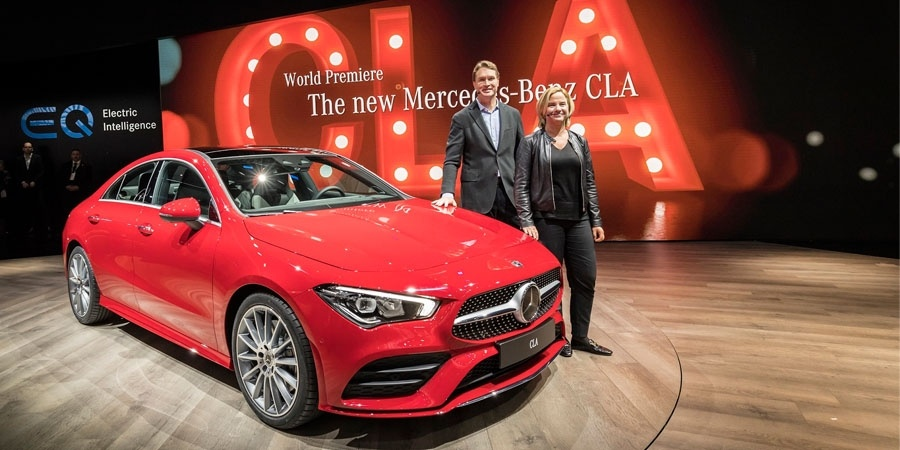Mercedes-Benz yeni yıla CLA modelini tanıtarak girdi