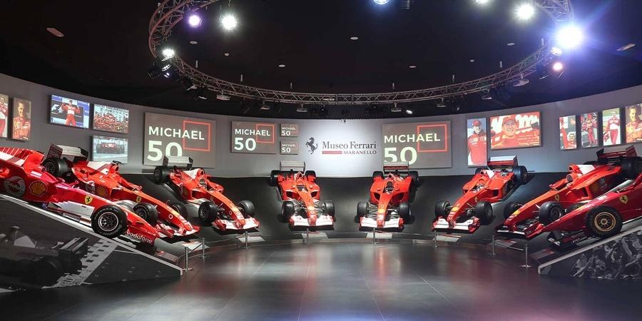 """""""Michael 50"""" Sergisi Ferrari Müzesi'nde hayranların ziyaretine açıldı"""