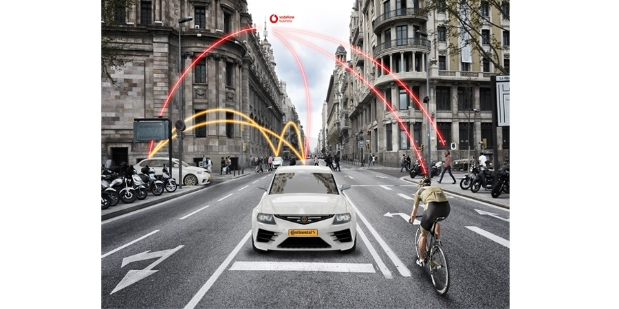 Continental ve Vodafone yol güvenliği için güçlerini birleştirdi