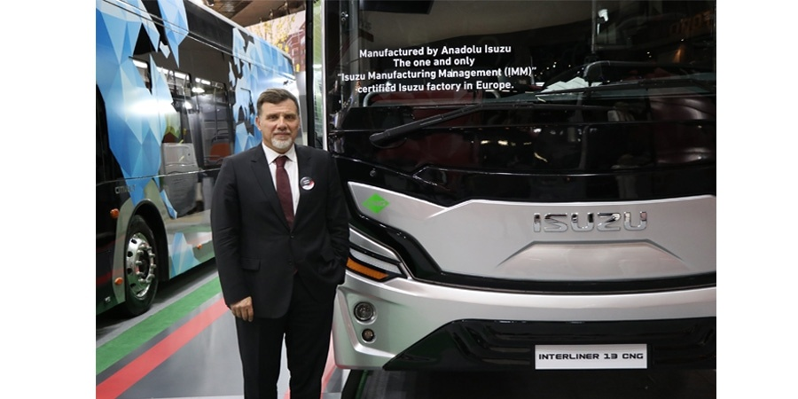 Anadolu Isuzu Busworld Brüksel'de geleceğin çevreci araçlarını sergiledi