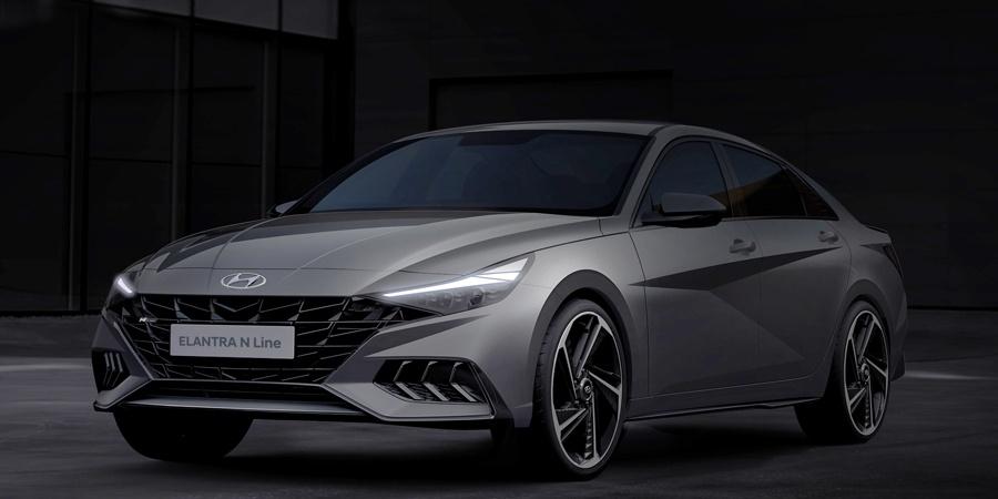Hyundai yeni Elantra N Line'ın çizimlerini paylaştı