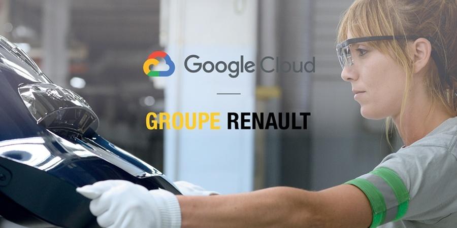 Groupe Renault ve Google Cloud'dan endüstri 4.0 için önemli iş birliği