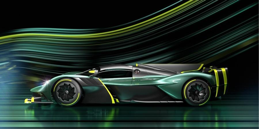 """""""Aston Martin Valkyrie AMR Pro"""" ilk kez piste çıkıyor"""
