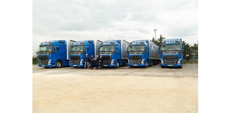 Mete Transport, tamamı Volvo Trucks'tan oluşan filosuna 5 yenisini daha ekledi