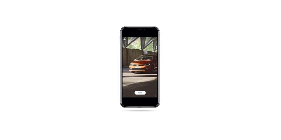 Volkswagen Binek Araç'tan  dijital pazarlamada bir ilk daha
