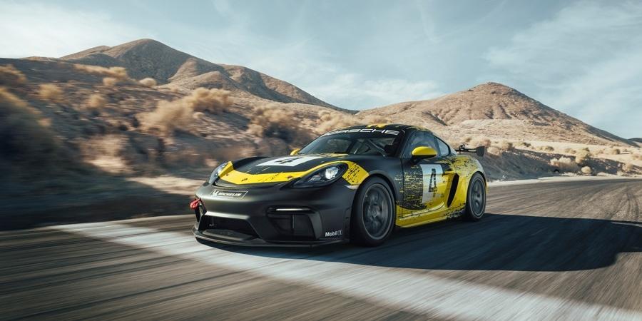 Yarış pistinde daha güçlü, daha hızlı: Yeni Porsche 718 Cayman GT4 Clubsport