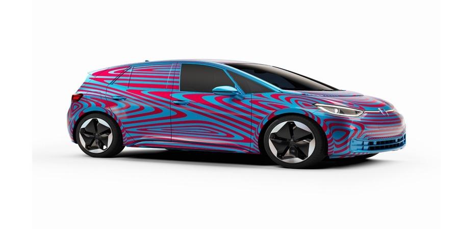 Volkswagen elektrikli model ailesi ID'nin  ilk üyesinin adı belli oldu: ID.3