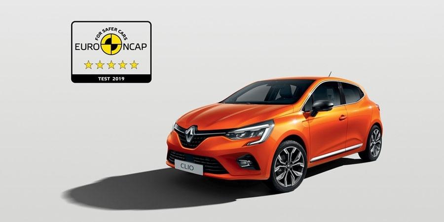 Yeni Renault Clio Euro NCAP'ten beş yıldız elde etti