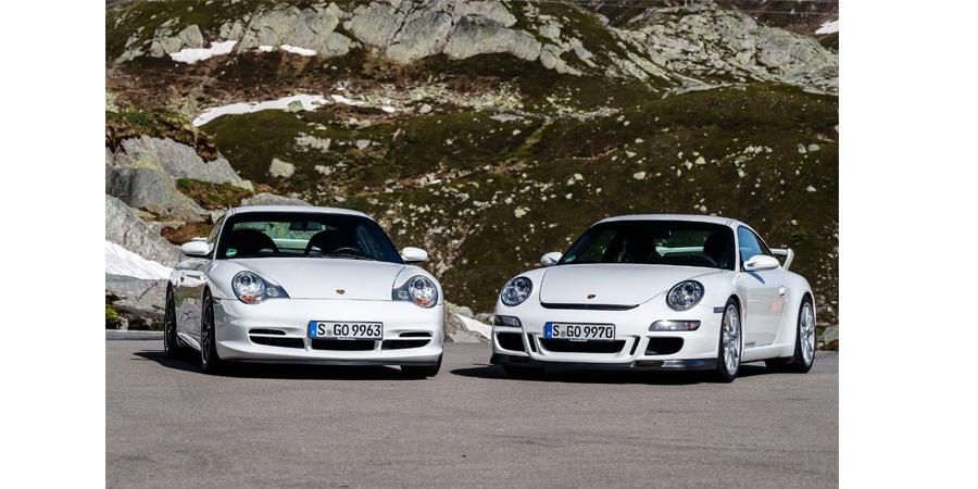Porsche 911 GT3'ün 20'nci yılını kutluyor