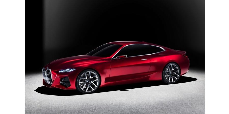 BMW Concept 4 ve Yeni BMW X6 Vantablack Frankfurt Otomobil Fuarı'na damgasını vurdu