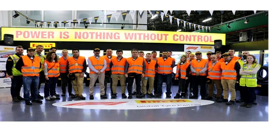 Pirelli, 9 şehirde 400'ü aşkın kişiye lastik eğitimi verdi