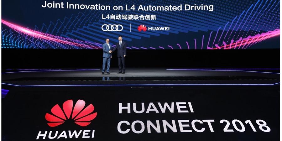 Audi ve HUAWEI otomatik sürüş konusunda güçlerini birleştiriyor