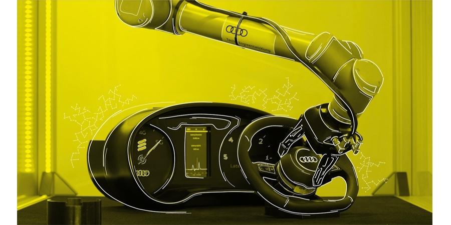 5G teknolojisi ile Audi'de robot ve insan birlikte çalışacak